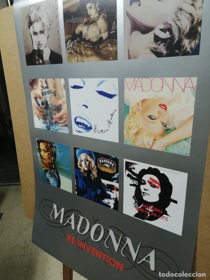 Carteles Publicitarios: MADONNA- Cartel Recopilatorio Publicitario de Discos - Merchandising, con Copyright - Foto 3 - 227096020