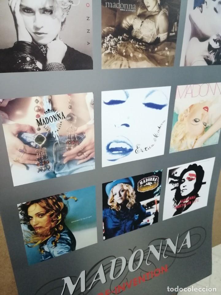 Carteles Publicitarios: MADONNA- Cartel Recopilatorio Publicitario de Discos - Merchandising, con Copyright - Foto 4 - 227096020
