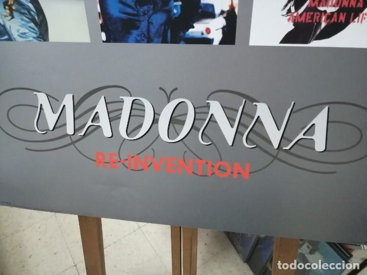 Carteles Publicitarios: MADONNA- Cartel Recopilatorio Publicitario de Discos - Merchandising, con Copyright - Foto 5 - 227096020