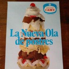 Carteles Publicitarios: CARTEL PUBLICITARIO HELADOS CAMY. Lote 227202160
