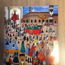 Carteles Publicitarios: CARTEL DE LAS FIESTAS DEL PILAR ZARAGOZA 1988 61X43CM. Lote 228403130