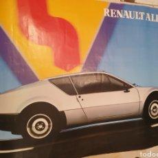 Carteles Publicitarios: RENAULT ALPINE A-310. CARTEL FRANCES AÑOS 80.. Lote 232891200