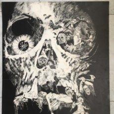 Affiches Publicitaires: ESTEBAN MAROTO. FIRMADO. CARTEL SERIE NEGRA. 1973. Lote 268992059
