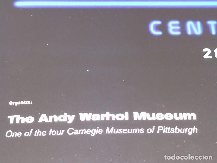 Carteles Publicitarios: CARTEL-- ANDY WARHOL -- SUPERSTAR -- 60x42 cm -- PERFECTO ESTADO - Foto 2 - 234488365