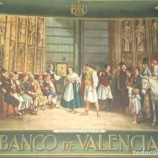 Carteles Publicitarios: CARTEL PUBLICITARIO BANCO DE VALENCIA -- EL TRIBUNAL DE LAS AGUAS -- B. FERRANDIZ -. Lote 235302420