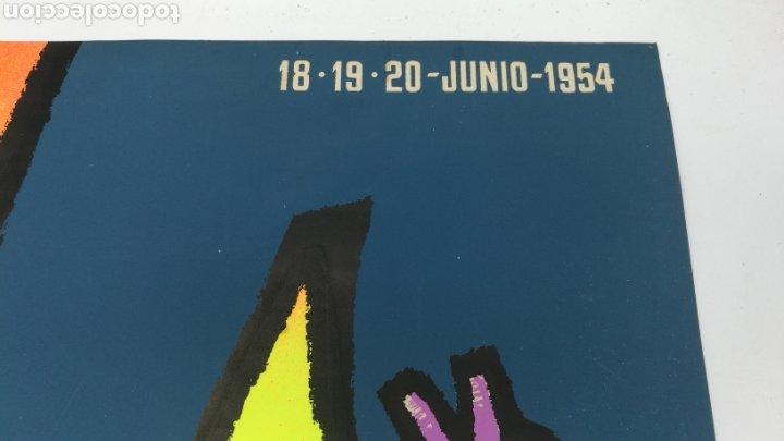 Carteles Publicitarios: Cartel de Josep Artigas para el V congreso clubs de publicidad 1954 - Foto 4 - 235392290