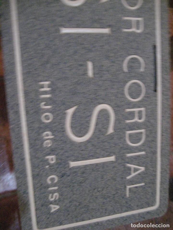 Carteles Publicitarios: cartel publicidad licor cordial si si cisa . carton duro . 30/14 cm - Foto 2 - 241852845