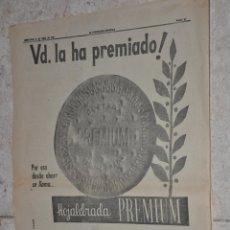 Carteles Publicitarios: HOJA PUBLICIDAD LA VANGUARDIA GALLETAS CUETARA. Lote 242372250