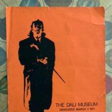 Carteles Publicitarios: CARTEL PUBLICITARIO AÑO 1971 THE DALI MUSEUM. Lote 244025890
