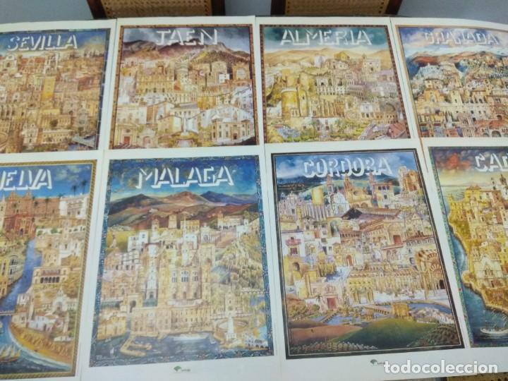 LOTE 8 CARTELES PROVINCIAS DE ANDALUCIA GRAN FORMATO 46X34 (Coleccionismo - Carteles Gran Formato - Carteles Publicitarios)