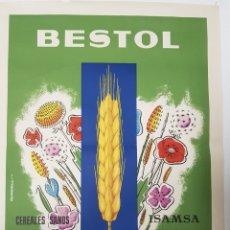 Affissi Pubblicitari: CARTEL BESTOL , HERVICIDA SELECTIVO , AÑOS 1960. Lote 245295820