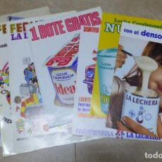 Carteles Publicitarios: 7 CARTELES PRODUCTOS NESTLE, LA LECHERA, CONDENSADA NUTRICIA - AÑOS 1960-1970, VER FOTOS ADICIONALES. Lote 246663960