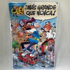 Carteles Publicitarios: PÓSTER - CARTEL PUBLICITARIO MORTADELO Y FILEMÓN - OLE - EDICIONES B GRUPO Z - 60X88CM. Lote 254869755