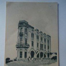 Carteles Publicitarios: POSTAL PUBLICIDAD GRAN HOTEL RESTAURANT COLL TIBIDABO-TARJETA PUBLICIDAD ANTIGUA-BARCELONA 1920. Lote 260865235