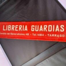 Carteles Publicitarios: LIBRERIA GUARDIAS TARRAGONA DISPLAY PUBLICITARIO EN CARTON. Lote 264855404