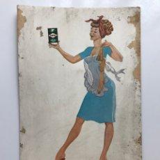 Carteles Publicitarios: DISPLAY PUBLICIDAD TURPOL - LAVADO PERFECTO - AÑOS 1950-60. Lote 269806208