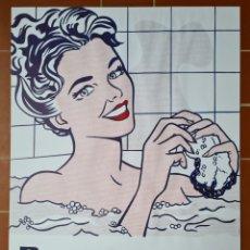 Carteles Publicitarios: WOMAN IN BATH 1963 - ROY LICHTENSTEIN - CARTEL POP ART - DECORACIÓN PINTURA. Lote 270377018