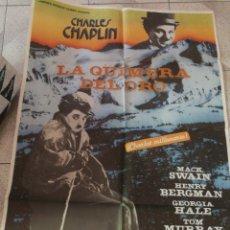 Carteles Publicitarios: POSTER CINE CHARLES. CHAPLIN 110X80. Lote 275912748