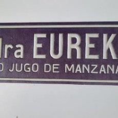 Carteles Publicitarios: DISPLAY DE SIDRA EUREKA. PURO JUGO DE MANZANAS. Lote 282545258