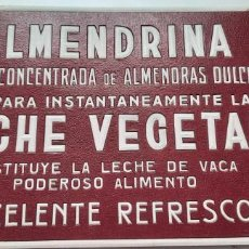 Carteles Publicitarios: CARTEL CARTÓN ALMENDRINA DE REUS, 1953 ORIGINAL, 34X24CMS. Lote 282562388