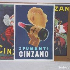 Carteles Publicitarios: CINZANO ALBUM MANIFESTI D'EPOCA. Lote 287573063