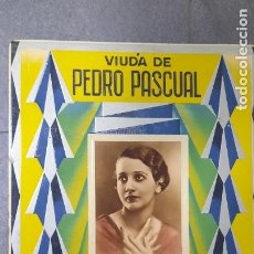 Carteles Publicitarios: CARTEL FABRICA DE PAPEL VIUDA DE PEDRO PASCUAL 1937 IMPRENTA. Lote 287634408