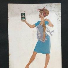 Carteles Publicitarios: DISPLAY PUBLICIDAD TURPOL - LAVADO PERFECTO - AÑOS 1950-60. Lote 287990003