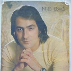 Carteles Publicitarios: POSTER PUBLICIDAD (ADVIRTISING) : NINO BRAVO. 1972. 60X85 CM. Lote 290066133