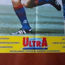 Carteles Publicitarios: ANTIGUO PÓSTER PUBLICIDAD ACCESORIOS ULTRA, F. C. BARCELONA PROSINECKI. VER FOTOS Y DESCRIPCIÓN.. Lote 293461348