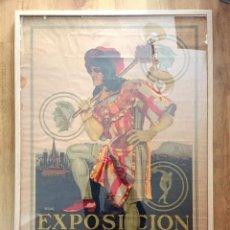 Carteles Publicitarios: CARTEL ORIGINAL EXPOSICIÓN INTERNACIONAL DE BARCELONA 1929 - ILUSTRADOR ROJAS - 97X68 CM. Lote 297031368