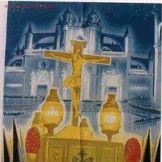 Carteles de Semana Santa: SEMANA SANTA DE JEREZ DE LA FRONTERA AÑOS 50. Lote 25579542