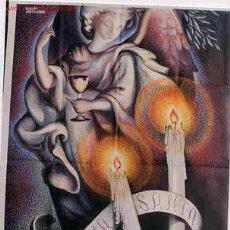 Carteles de Semana Santa: CARTEL HUELVA SEMANA SANTA DE HUELVA 1949. Lote 26864592