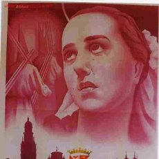 Carteles de Semana Santa: CARTEL SEMANA SANTA MURCIA 1953 GRANDE ORIGINAL A CARBONELL. Lote 25927821