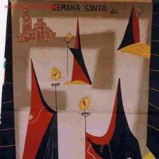Carteles de Semana Santa: CARTEL SEMANA SANTA MURCIA GRANDE 1957. Lote 26047623