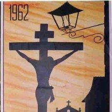 Carteles de Semana Santa: CARTEL SEMANA SANTA CACERES 1962. Lote 25905555