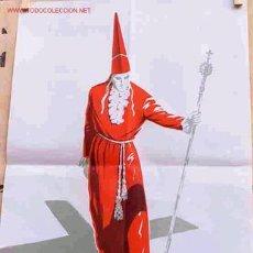 Carteles de Semana Santa: CARTEL SEMANA SANTA MURCIA GRANDE 1962. Lote 25927808