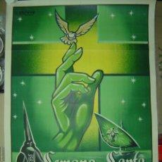 Carteles de Semana Santa: CARTEL SEMANA SANTA MARINERA - VALENCIA - AÑO 1959. Lote 27304042