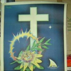 Carteles de Semana Santa: CARTEL SEMANA SANTA - VALENCIA - LITOGRAFIA - AÑO 1952. Lote 103564674