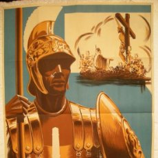 Carteles de Semana Santa: CARTEL CARTAGENA SEMANA SANTA 1958 ( R. PUCH ), LITOGRAFIA. Lote 25579509