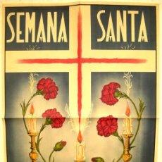 Carteles de Semana Santa: CARTEL JUMILLA , MURCIA , SEMANA SANTA 1951 LITOGRAFIA. Lote 25884791
