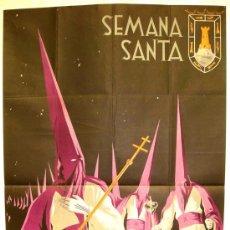 Carteles de Semana Santa: CARTEL CARTAGENA , SEMANA SANTA 1954 ( MORAGON ) LITOGRAFIA. Lote 25579512