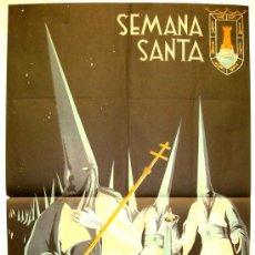 Carteles de Semana Santa: CARTEL CARTAGENA , SEMANA SANTA 1950 ( MORAGON ) LITOGRAFIA. Lote 26047625