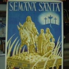 Carteles de Semana Santa: CREVILLENTE (ALICANTE) - SEMANA SANTA - 1948. Lote 26695906