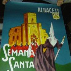 Carteles de Semana Santa: ALBACETE - SEMANA SANTA - AÑO 1974 - LITOGRAFIA. Lote 118425976