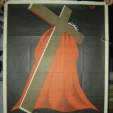 Carteles de Semana Santa: GANDIA (VALENCIA) - SEMANA SANTA - AÑO 1960. Lote 27060500