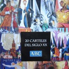 Carteles de Semana Santa: COLECCIÓN DE CARTELES DE SEMANA SANTA DE SEVILLA DE LA COLECCIÓN 20 CARTELES DEL SIGLO XX. Lote 26992866
