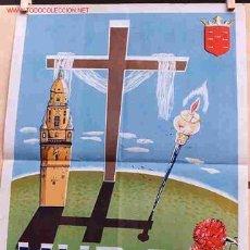 Carteles de Semana Santa: CARTEL SEMANA SANTA DE MURCIA 1956 PEQUEÑO , LITOGRAFIA , J. HERNANDEZ , ORIGINAL. Lote 4230066