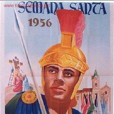 Carteles de Semana Santa: CARTEL SEMANA SANTA DE BENETUSER 1956 , VALENCIA. Lote 123097646