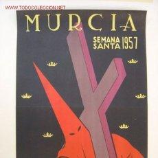 Carteles de Semana Santa: MURCIA - SEMANA SANTA - AÑO 1957. Lote 26992820