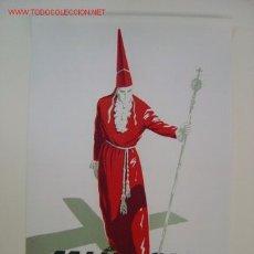 Carteles de Semana Santa: MURCIA - SEMANA SANTA - AÑO 1962 - LITOGRAFIA. Lote 12234729